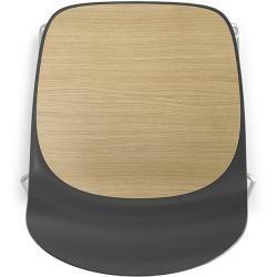 Photo of Lapalma Seela S311 Stuhl weiß lackiert schwarz / Kunstleder Grimm (Wunschfarbe im Bemerkungsfeld ang – Welcome to Blog