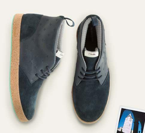 High Top Sneaker In Der Trendfarbe Blau: Tanner Surf, Ein Besonders  Angesagtes Retro