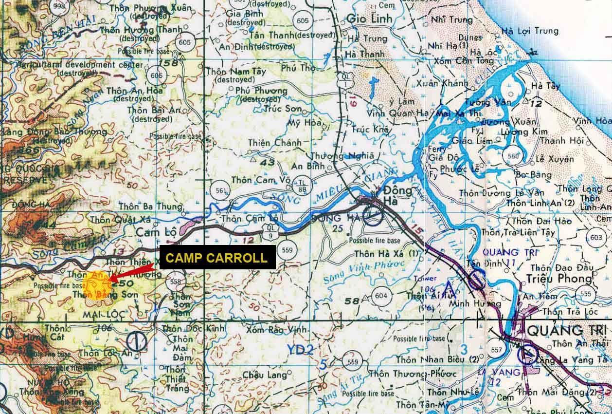 Image Result For Camp Carroll Vietnam 1968 Vietnam War Vietnam