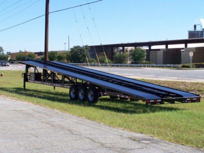 50 Wedge Carhauler 3 4 Car Hauler With Trailer Hauling Track Boat Trailer Car Hauler Trailer Trailer