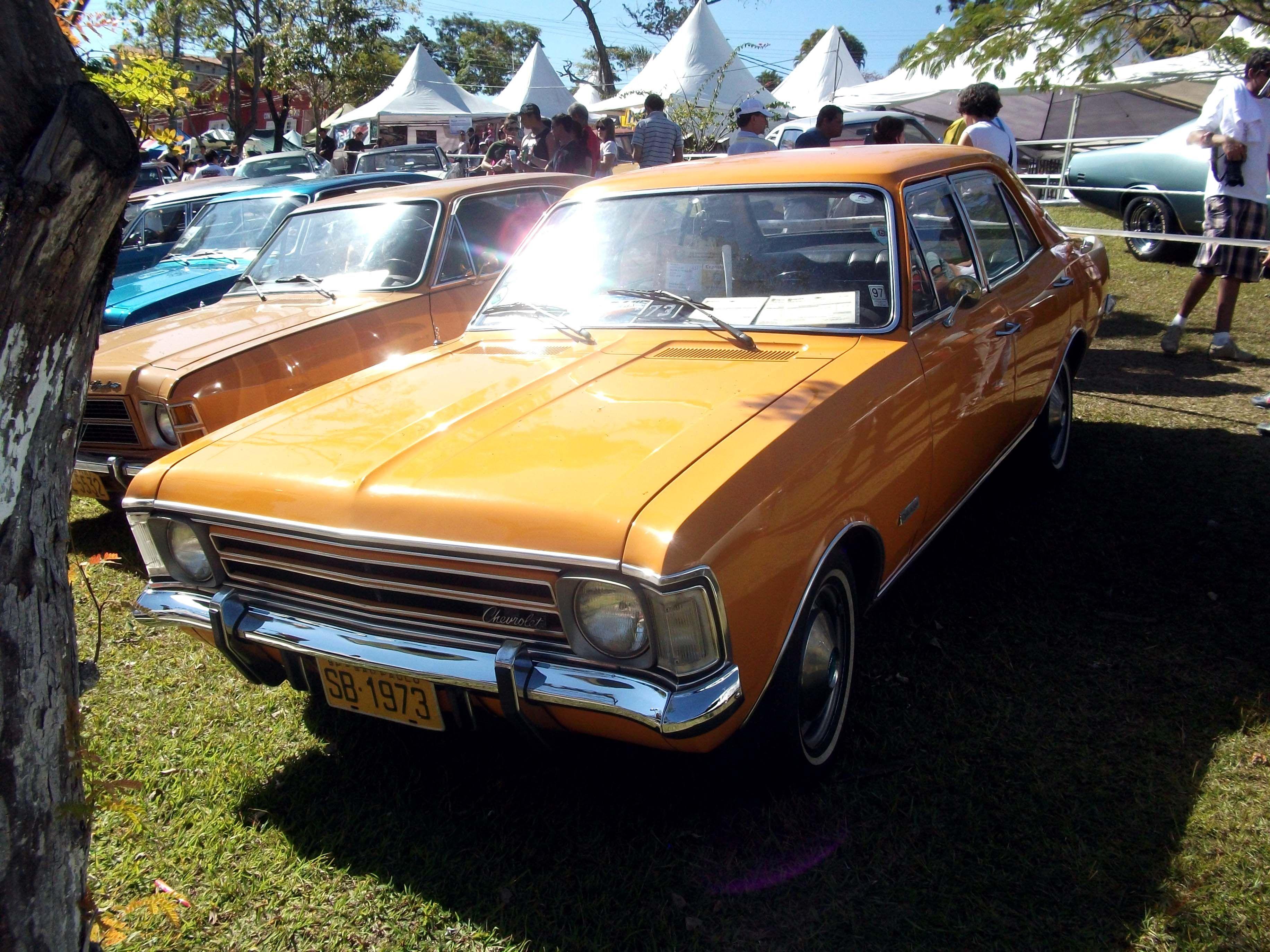 Chevrolet Opala De Luxo 1973
