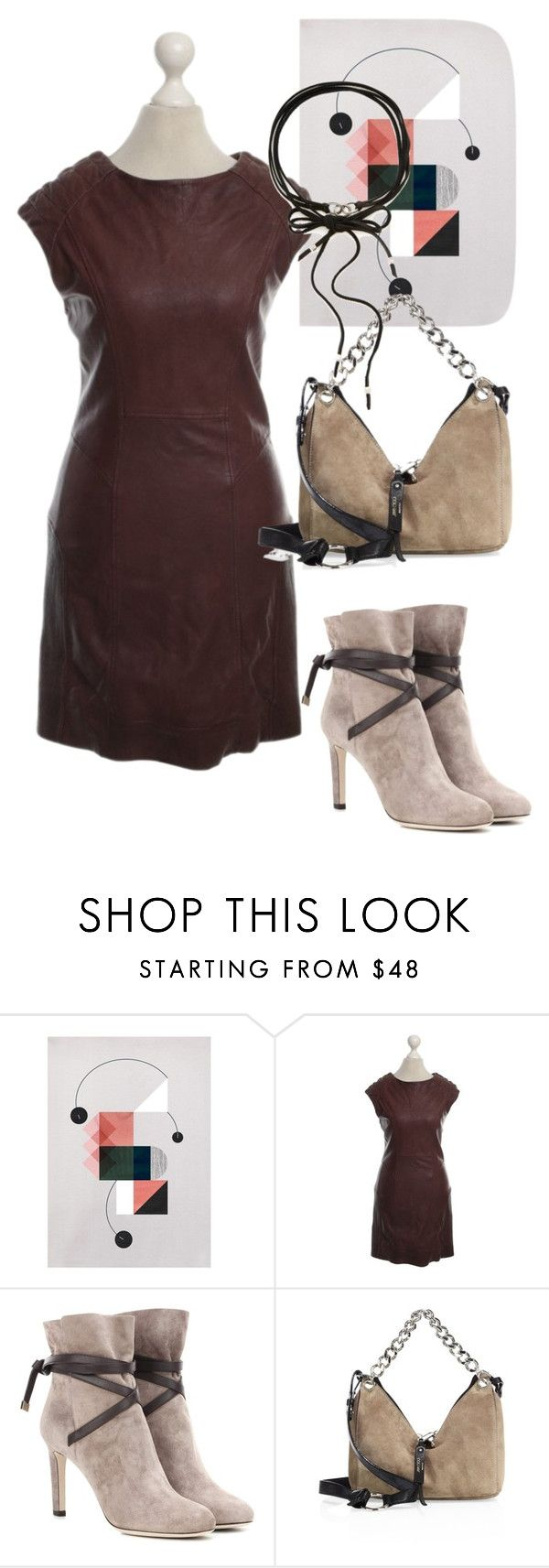 """""""dresd"""" by masayuki4499 ❤ liked on Polyvore featuring AllSaints, Jimmy Choo and Chan Luu"""