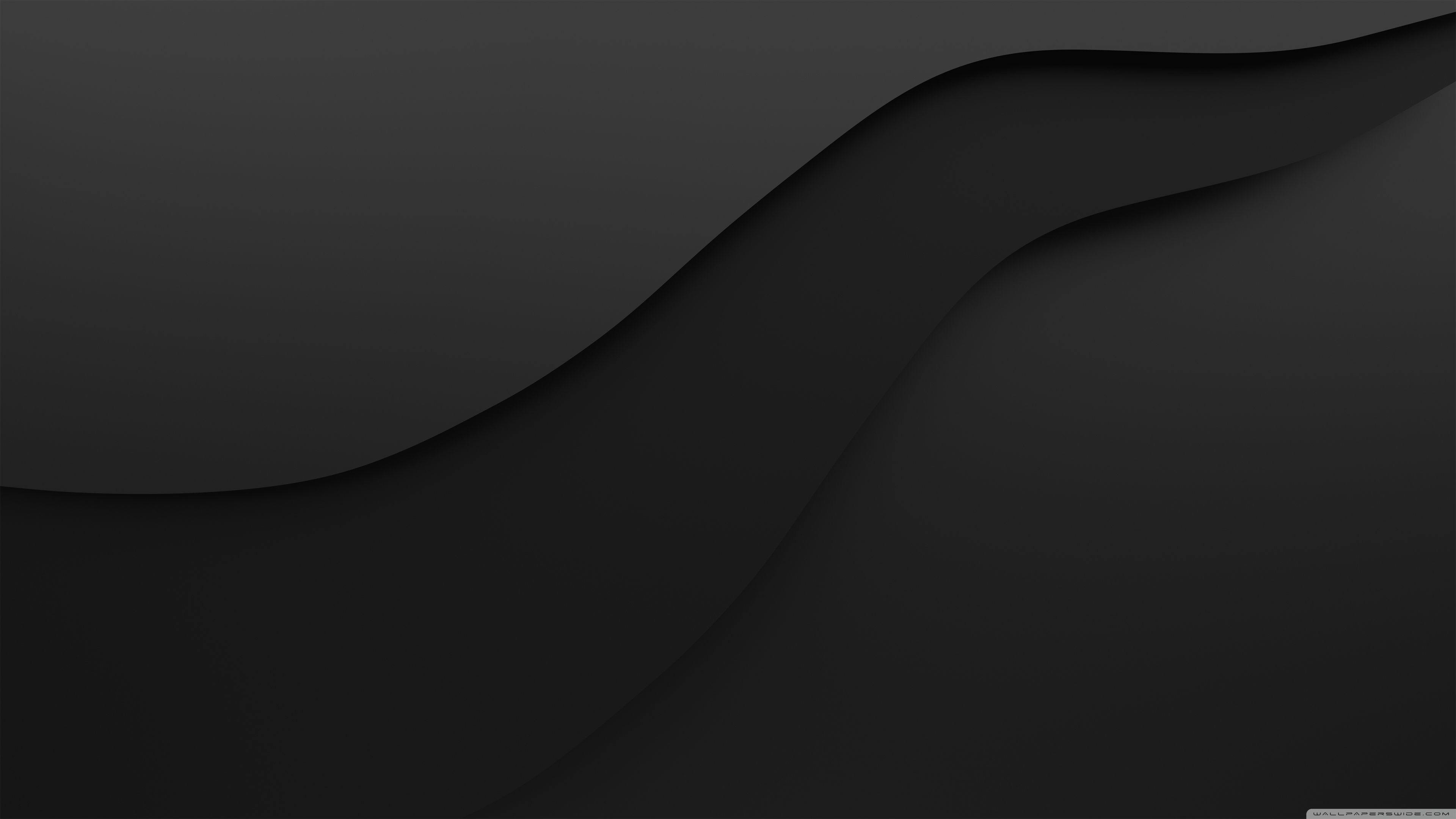 Crevasse Black Full Hd Backgraunds 4k Dark Desktop Wallpaper Ultrahd 3840x2160