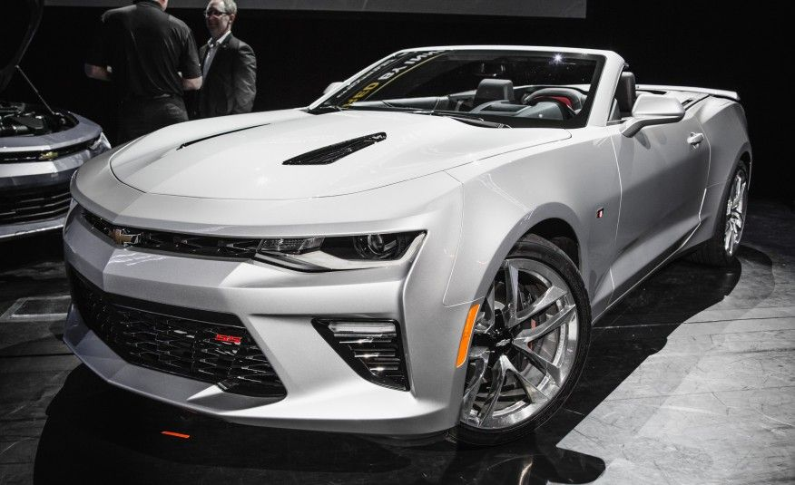 Revealed The 2016 Chevrolet Camaro SS Convertible