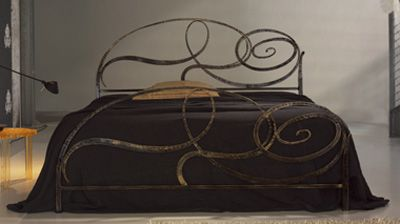 letto_ferro_battuto_CAPRICCIO  CHIC  Pinterest  Metal beds, Metals and Wrought iron beds