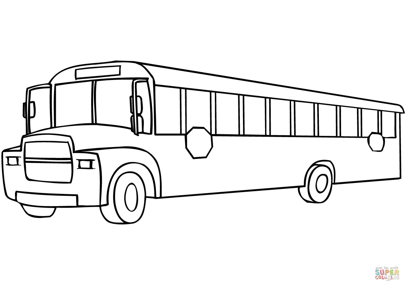 School Bus Coloring Page Best Of Printable Coloring Page