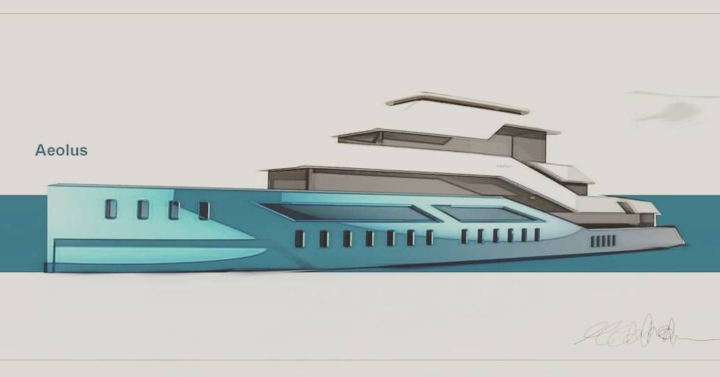 #superyacht #superyachtdesign #designer #WIP #conceptboat #design #passionfordesign by medendesigns