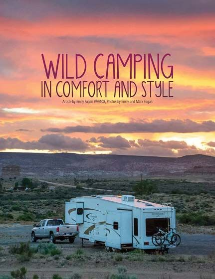 """""""Wild Camping"""" & RV Boondocking Tips - Escapees Magazine ..."""