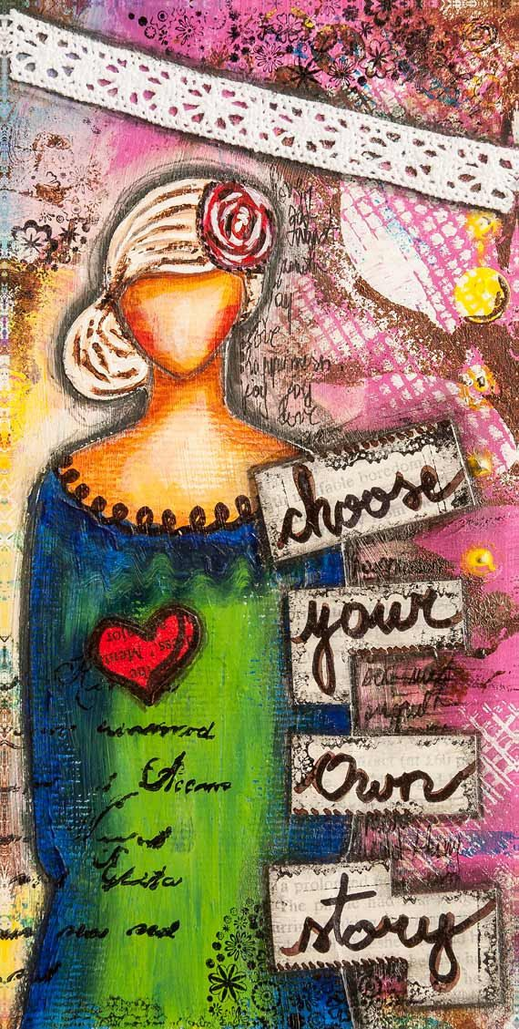 Inspirational Art Whimsical Art Motivational Print