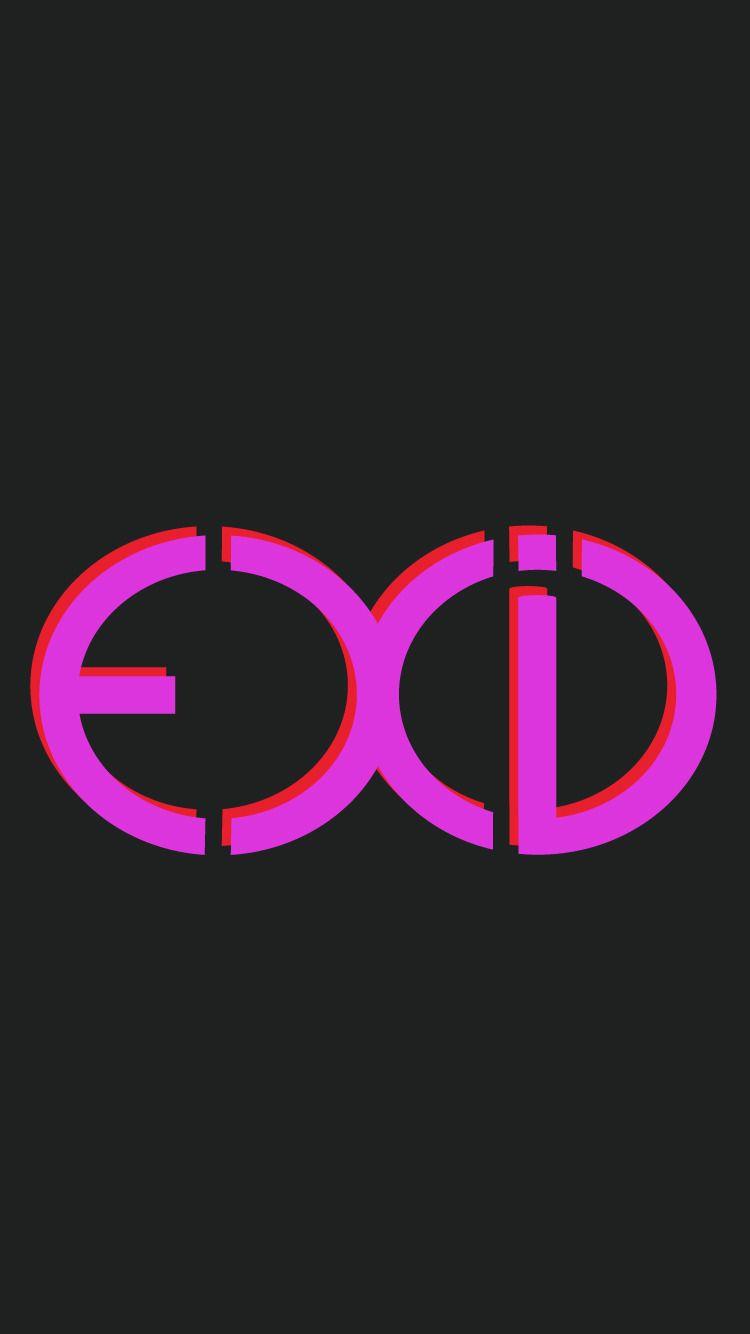 Exid Ddd Lockscreen Wallpaper Kpop In 2019 Kpop Logos