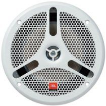 Jbl Marine 180 Watt 6 5 Inch White Two Way Integrated Grille Assembly Marine Speaker Features Peak At 180 Watts Power Handling Rms 60 Watts Sensitivity Of 91