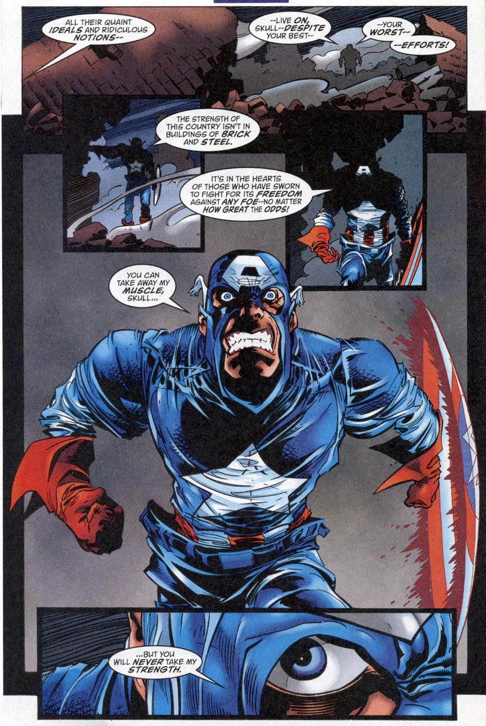 Image result for Captain America Vol. 3, #17