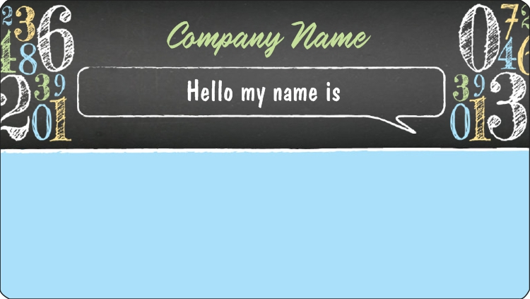Name Tags Printable