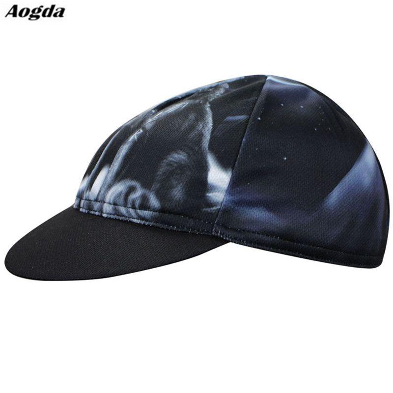 605c3c68571 Men Bike cycling cap MTB pirates scarf headsweats dress hats Fire Wolf Black  bicycle head wear