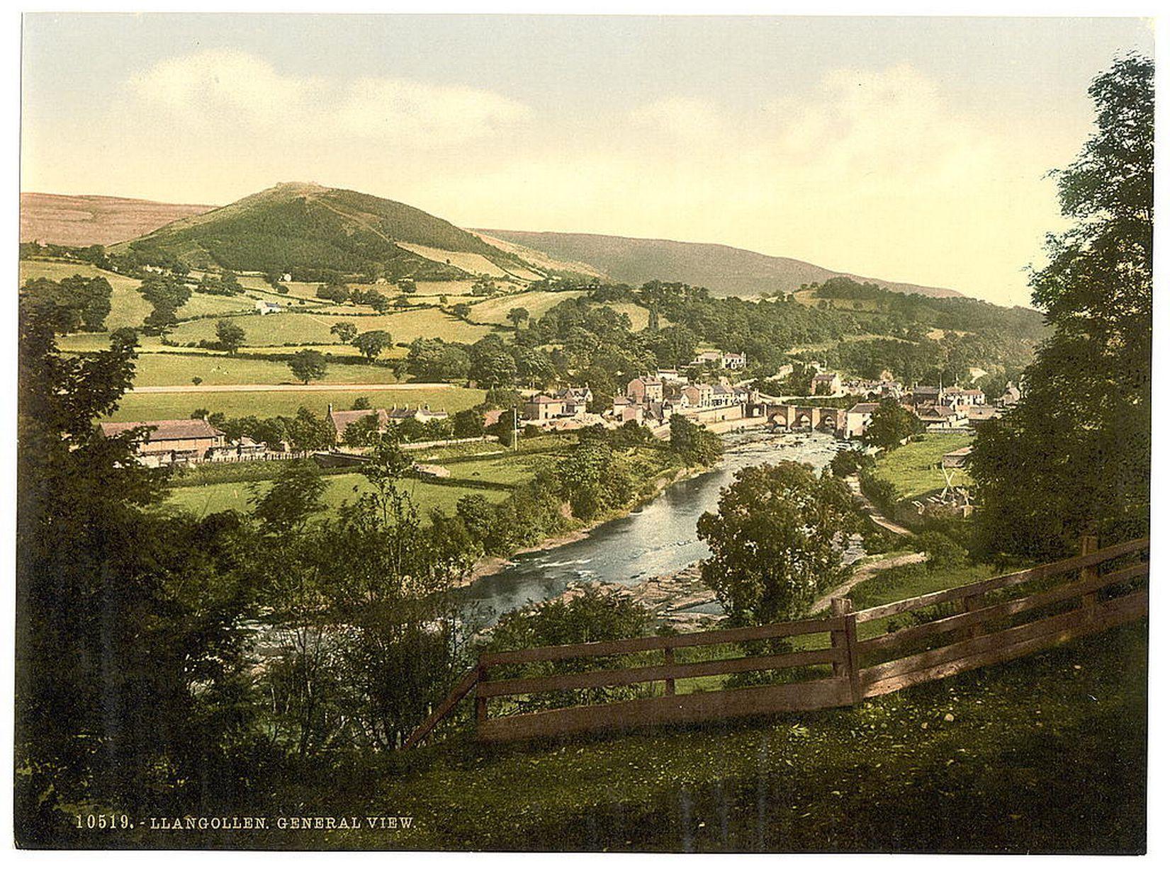 Llangollen, circa 1890