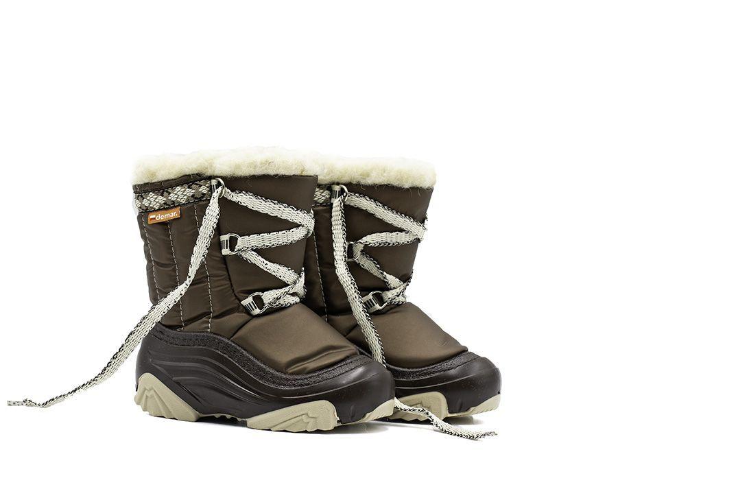 Buty Zimowe Dla Dzieci Sniegowce Dzieciece Wiazane Demar Joy A Boots Winter Boot Shoes
