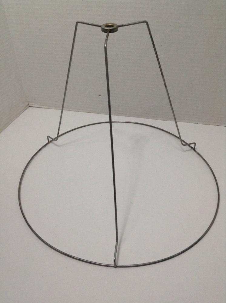 Vtg lamp shade frame wire form round retro restore metal 115 x 15 vtg lamp shade frame wire form round retro restore metal 115 x 15 repurpose greentooth Choice Image