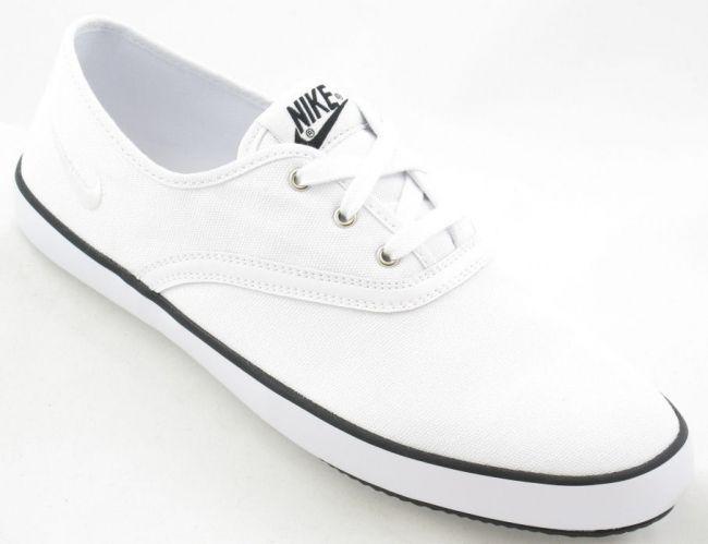 gran sorpresa barato 100% auténtico Zapatillas Nike De Lona Para Hombre Deuce Furgonetas Blancas RRsvAqMggL