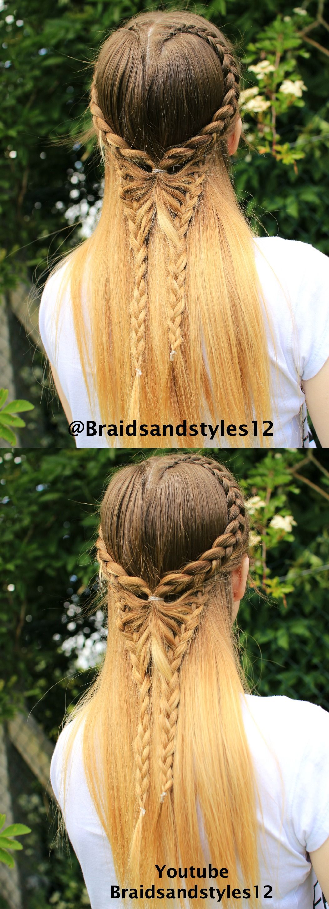Pin by nicole white on hairstyles pinterest butterfly braid
