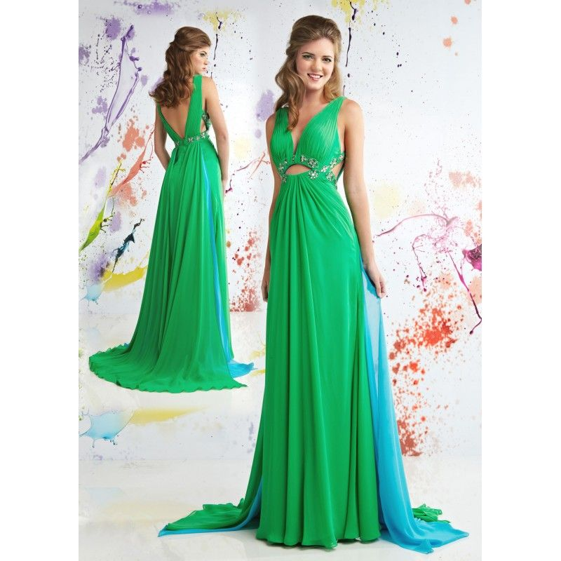 Long Banquet Dresses Long Sexy Green Formal Party Dresses With