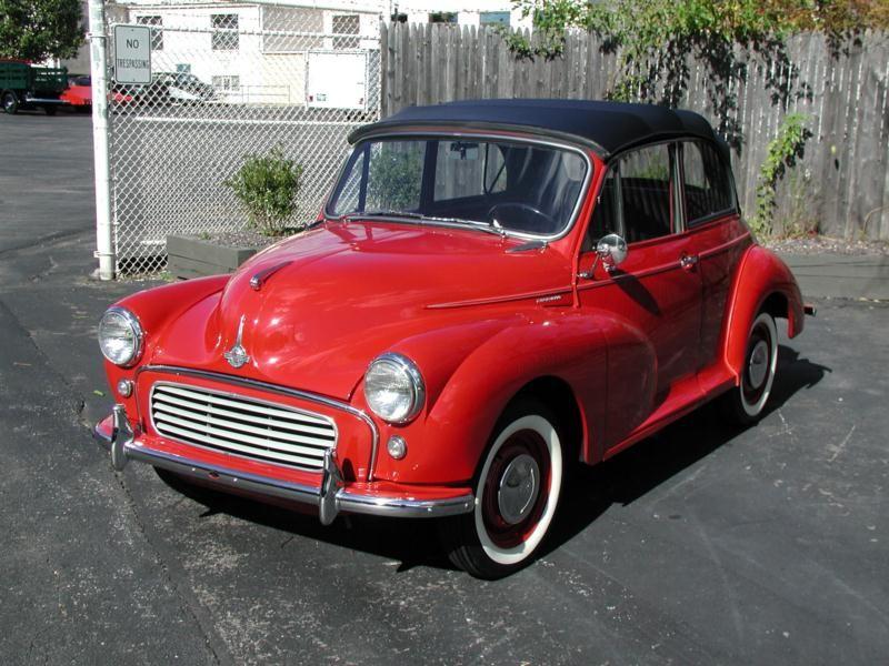 1958 Morris Minor Convertible | Charley Morris | Pinterest | Morris ...