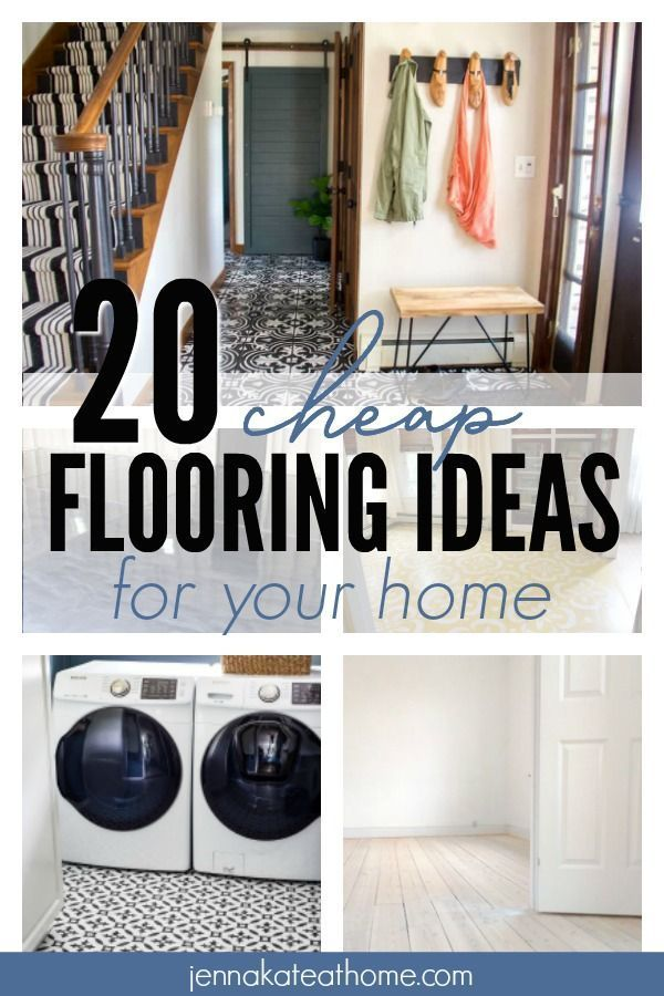 20 Cheap Flooring Ideas You Have to Try | Diy flooring ...