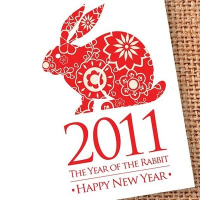 Year of the Rabbit, chinese new year stationery | Chinese cards