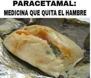 El Rincon Del Humor Paracetamal Memes De Tamales Comida Recetas De Comida