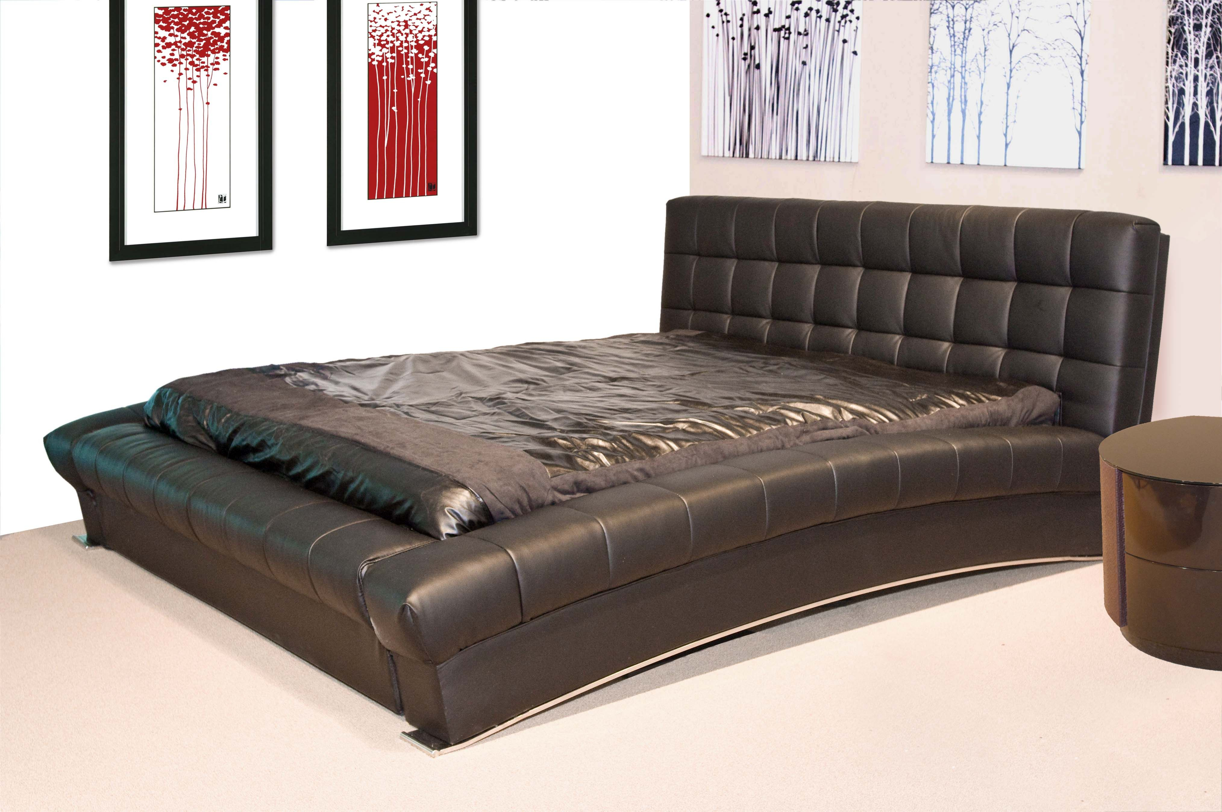 awesome cal king bed black mattress made of leather tufted. awesome cal king bed black mattress made of leather tufted  king