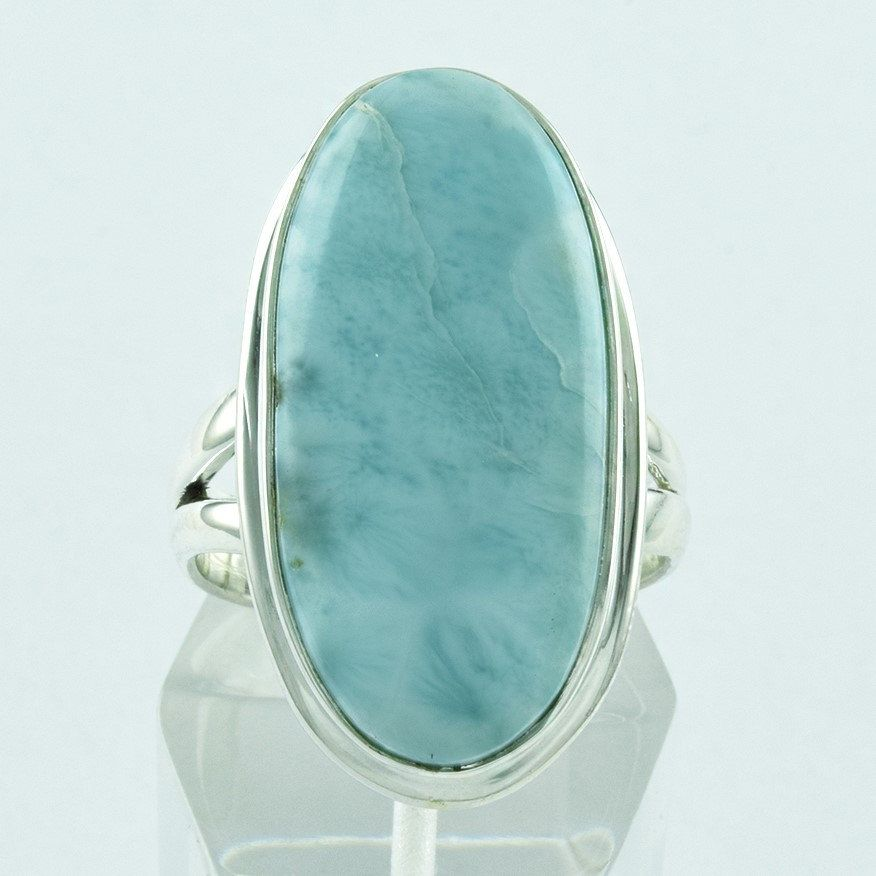 Larimar Stone attractive 925 Solid Sterling Silver Ring __ Jaipur Silver India by JaipurSilverIndia on Etsy