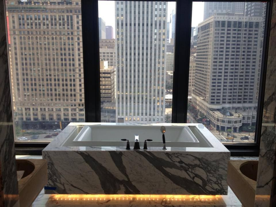 The langham chicago chicago il infinity suite best for Top luxury hotels in chicago
