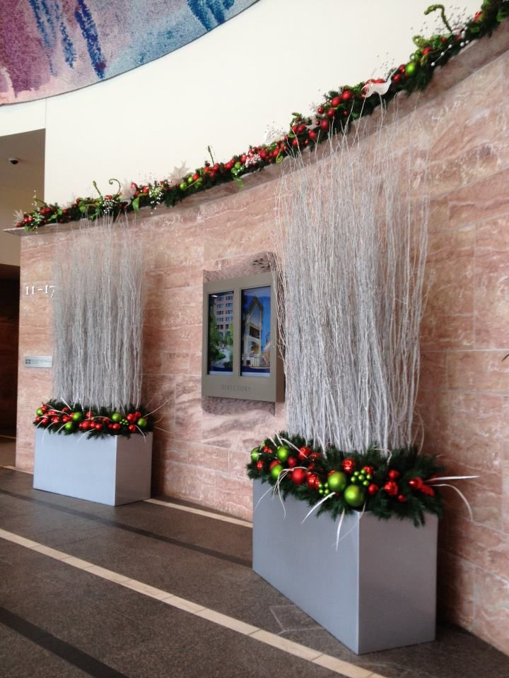Christmas Business Decorations.Holiday Business Decor Christmas Decorations Outdoor