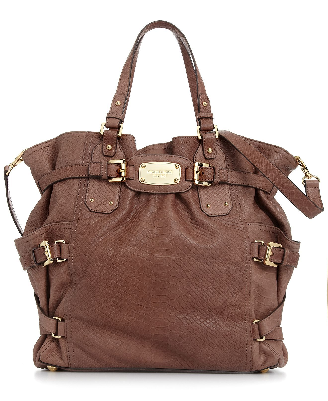 203c03ded4bfc6 MICHAEL Michael Kors Handbag, Gansevoort Tote | My Style | Pinterest