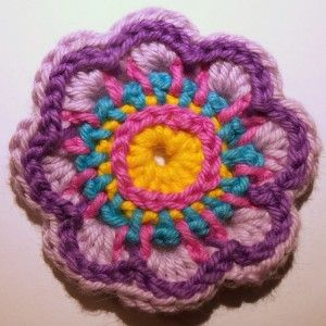 Flower Pattern Embroidery