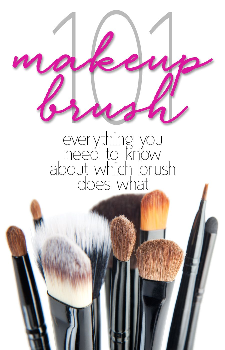 Essential Makeup Brushes Essential makeup brushes