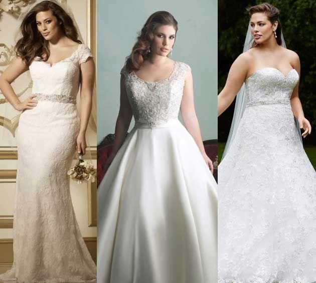 vestigos gorditas novias