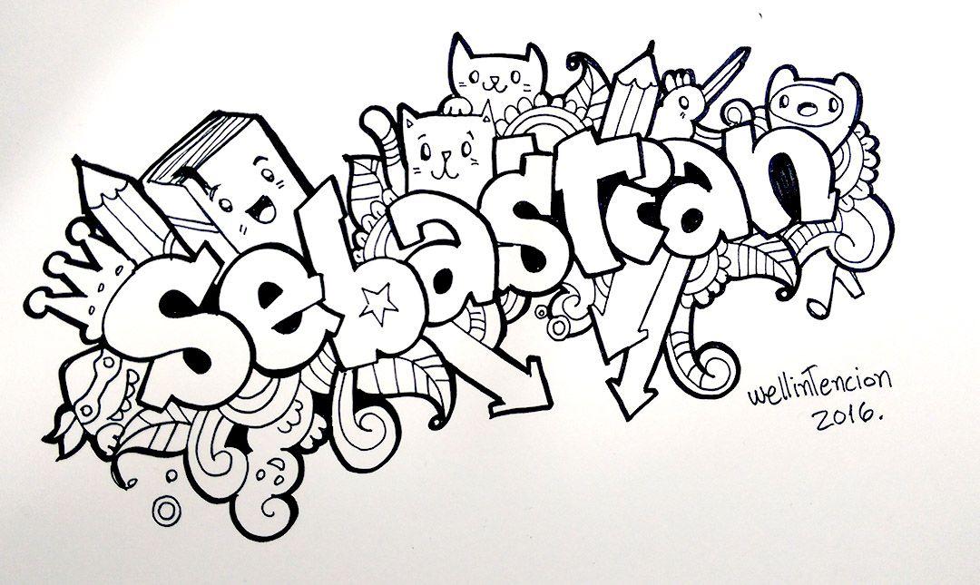Resultado De Imagen Para Sebastian Nombre Graffitis Nombres Nombres Graffiti Nombres