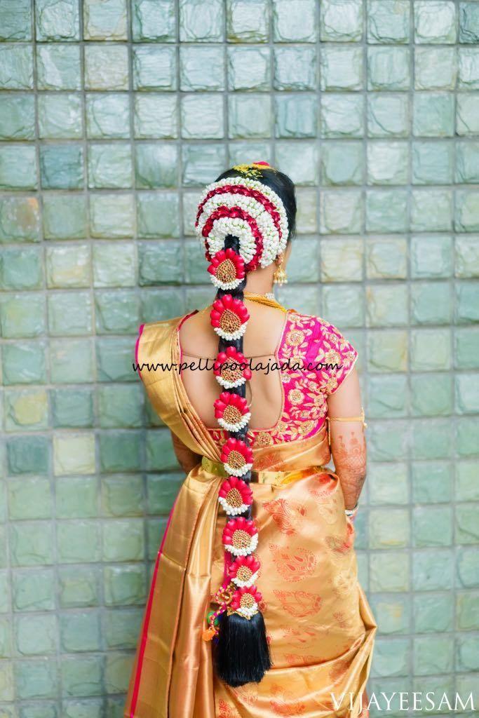 Pellipoolajada Branches All Over Ap Telangana Tamilnadu Karnataka Trivandrum Indian Bride Hairstyle South Indian Bride Hairstyle Indian Bridal Hairstyles