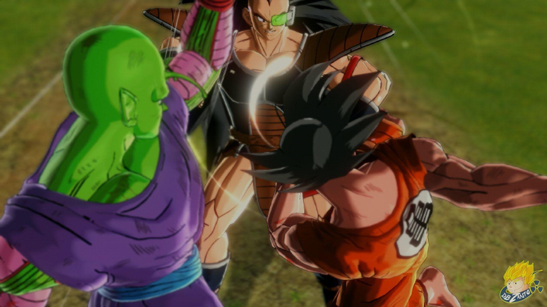 Dragon Ball Xenoverse Goku Piccolo Vs Villainous Raditz Storymode Cu Dragon Ball Dragon Saiyan