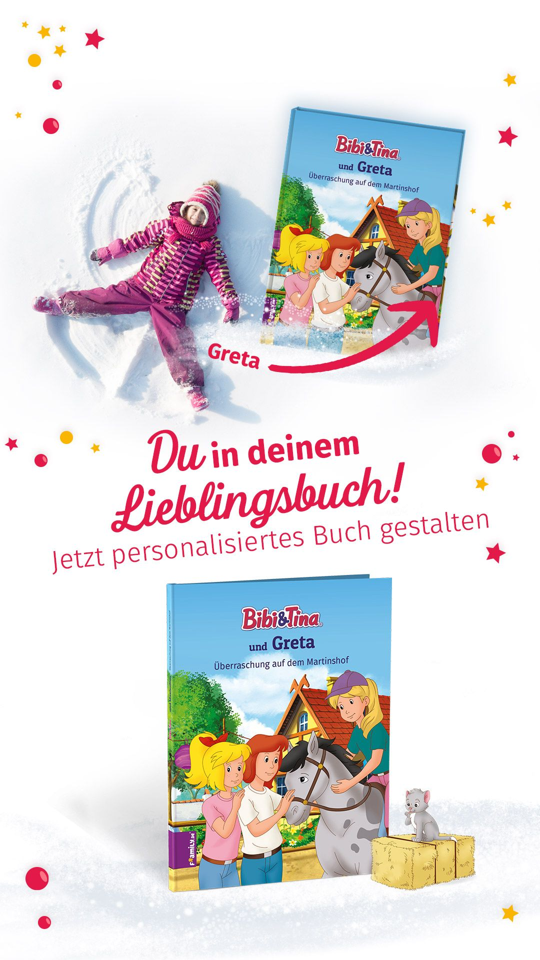 Personalisiertes Kinderbuch Mit Bibi Und Tina Kinderbucher Personalisierte Geschenke Bibi Und Tina
