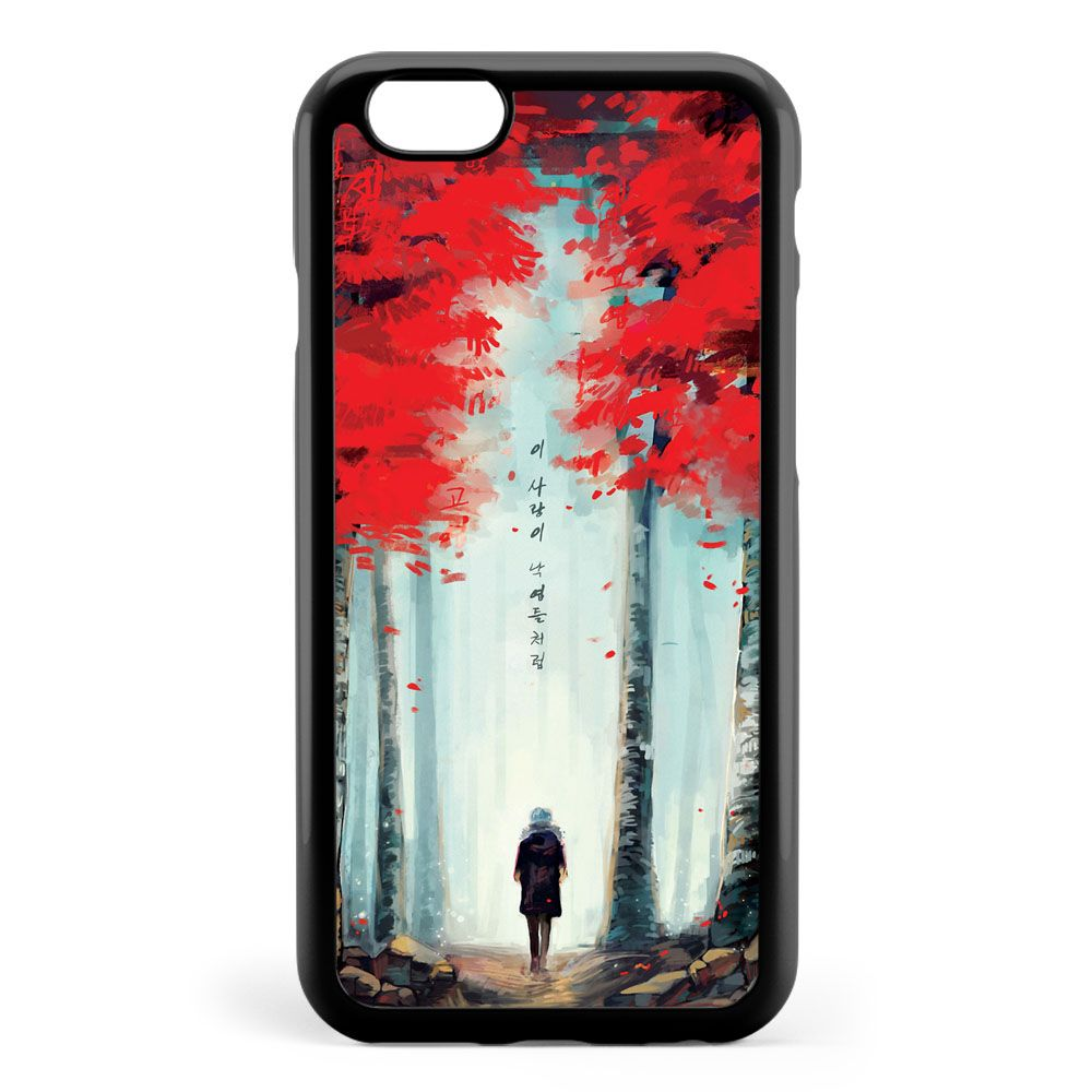 Dead Leaves Art Painting Apple iPhone 6 / iPhone 6s Case Cover ISVG979