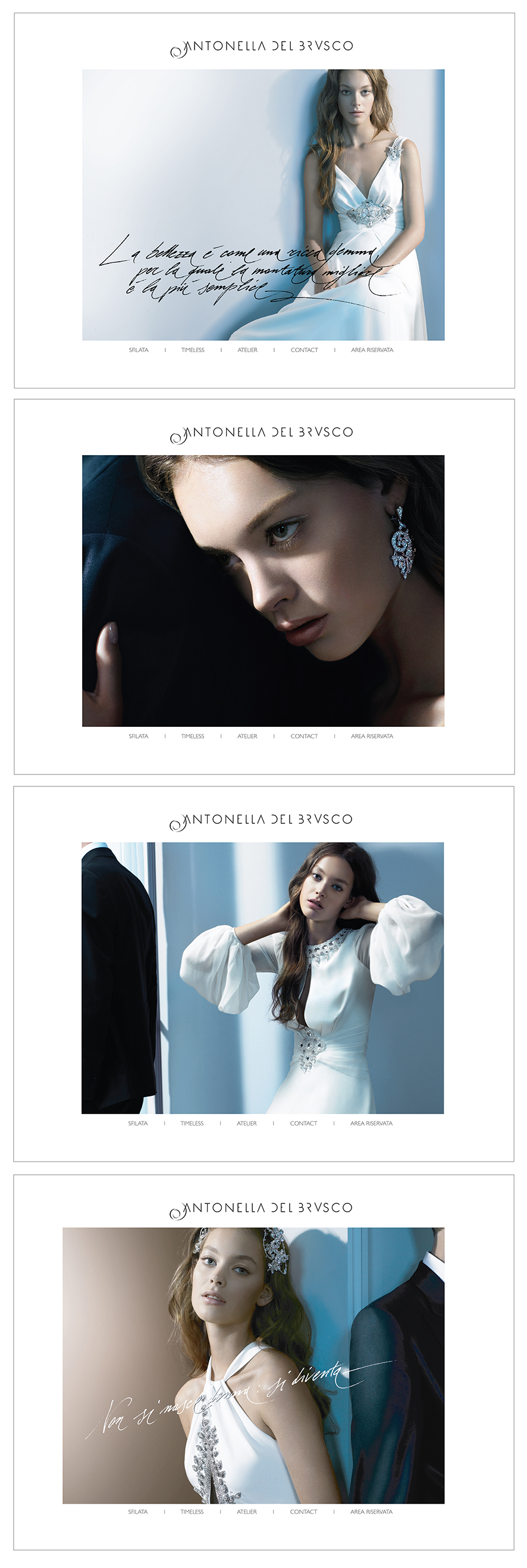 CLIENT - ANTONELLA DEL BRUSCO HOMEPAGE Emanuela Nazzani Executive Creative Director.