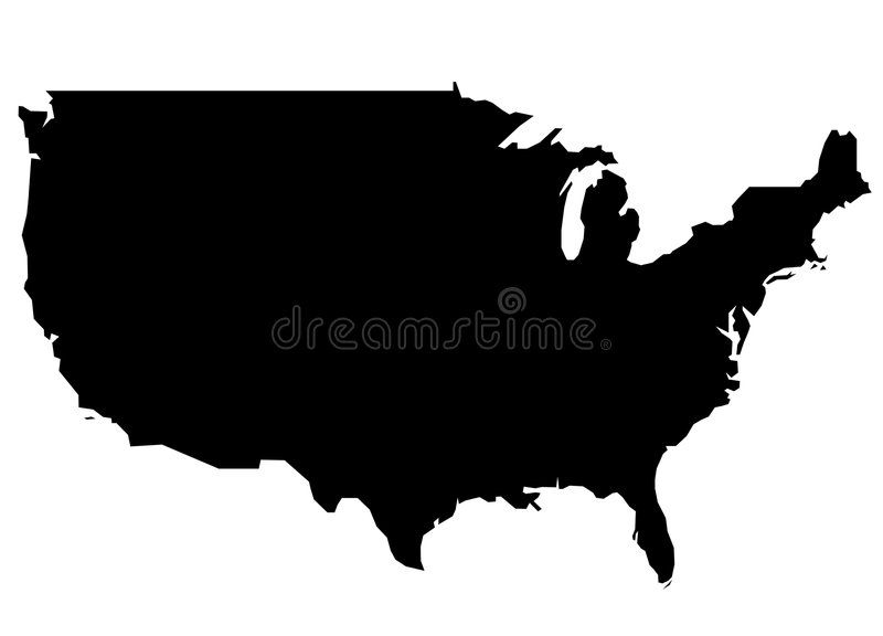 Us Map Vector Image US Map. A simple vector map of the US , #affiliate, #simple, #Map