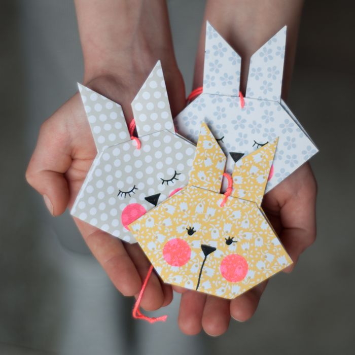 Osterhase Origami