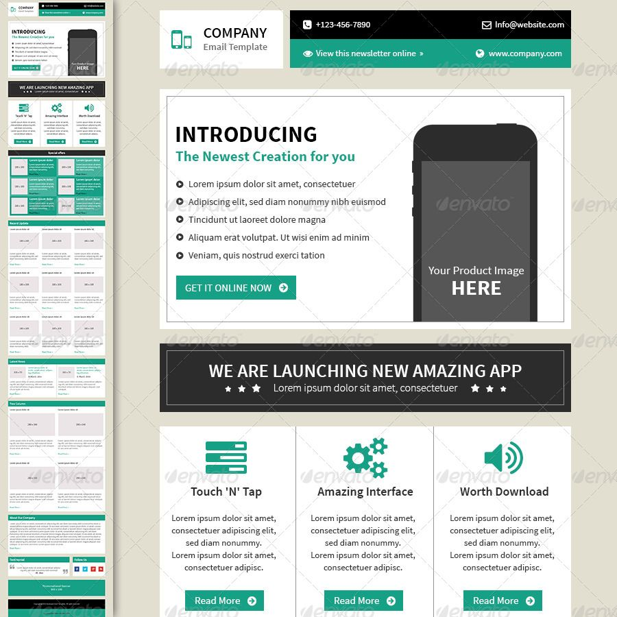 Business Email Template Business emails, Email templates