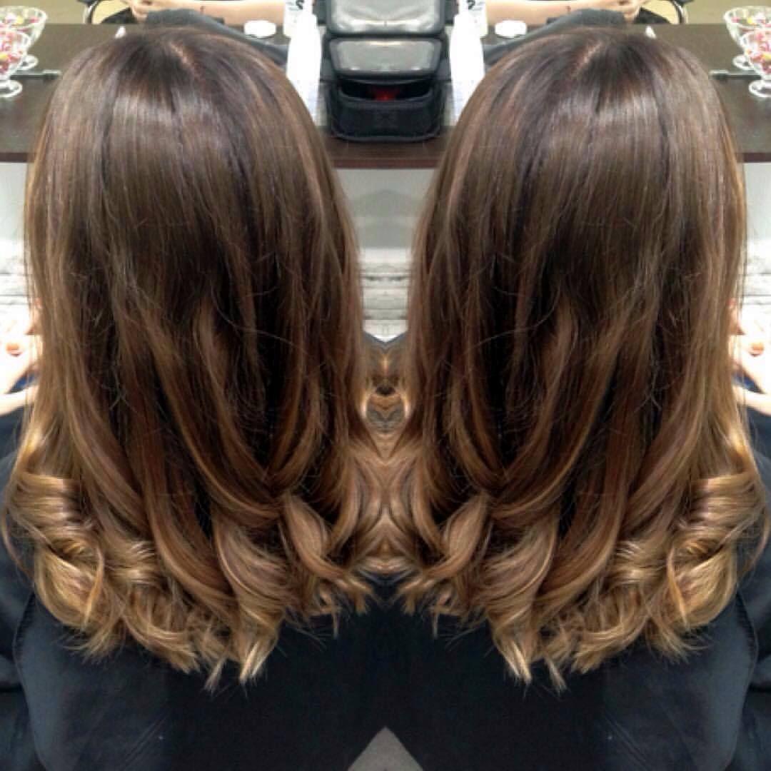 любителей покраска волос шатуш фото на темные волосы что делать, если