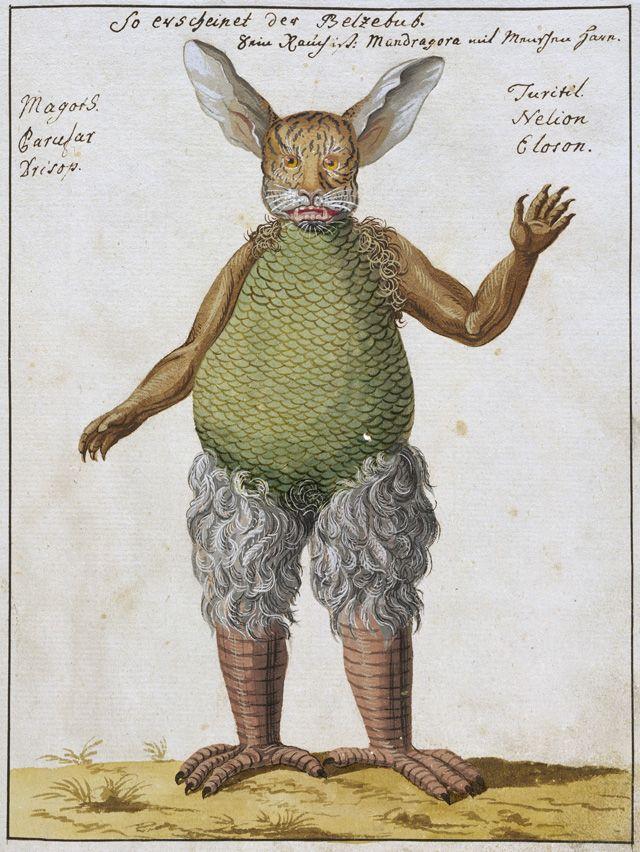Belzebub (Beelzebub), Compendium rarissimum totius Artis Magicae..., Wellcome Library, London, ca. 1775