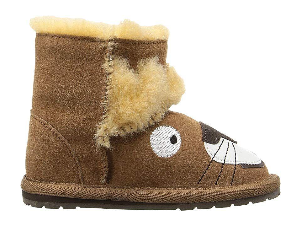 1e24f07b5fa EMU Australia Kids Leo Lion Walker (Infant) Kids Shoes Chestnut ...