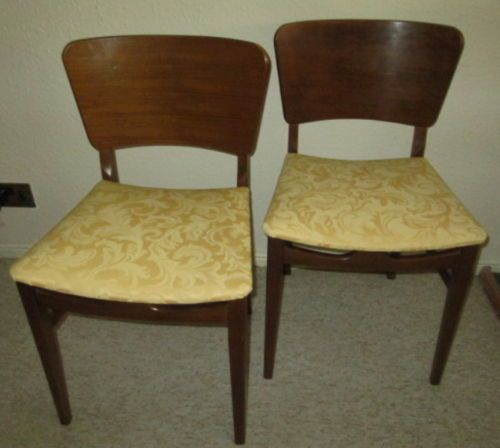 2 Teak Dining Chairs By Beautility Furniture Retro Vintage Quality From 1960 S Teak Dining Chairs Dining Chairs Furniture