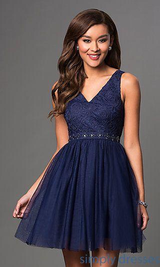 Embroidered V Neck Short Party Dress Dresses Pinterest Dresses